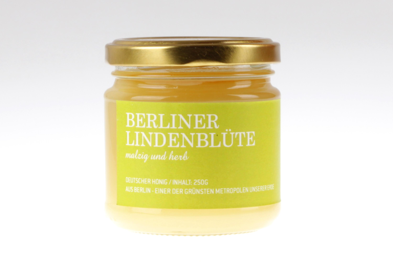 Berliner Lindenblüten Honig - Bio Honig von feinjemacht