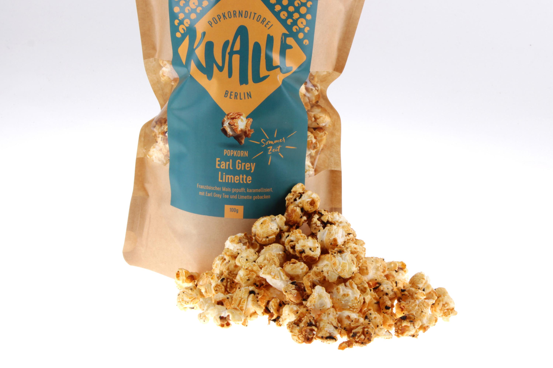 Earl Grey Limette Popcorn von feinjemacht