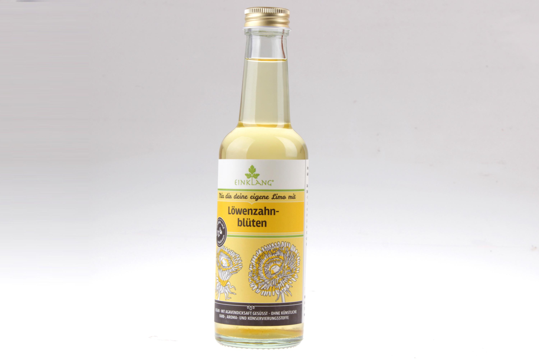 Löwenzahnblüten Fruchtsirup - Mix dir selbst deine Limo mit feinjemacht Sirup