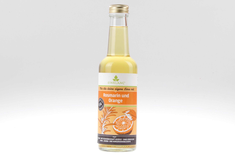 Rosmarin Orangen Fruchtsirup von feinjemacht