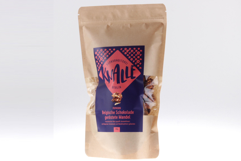 Schokolade geröstete Mandel Popcorn von feinjemacht aus Berlin