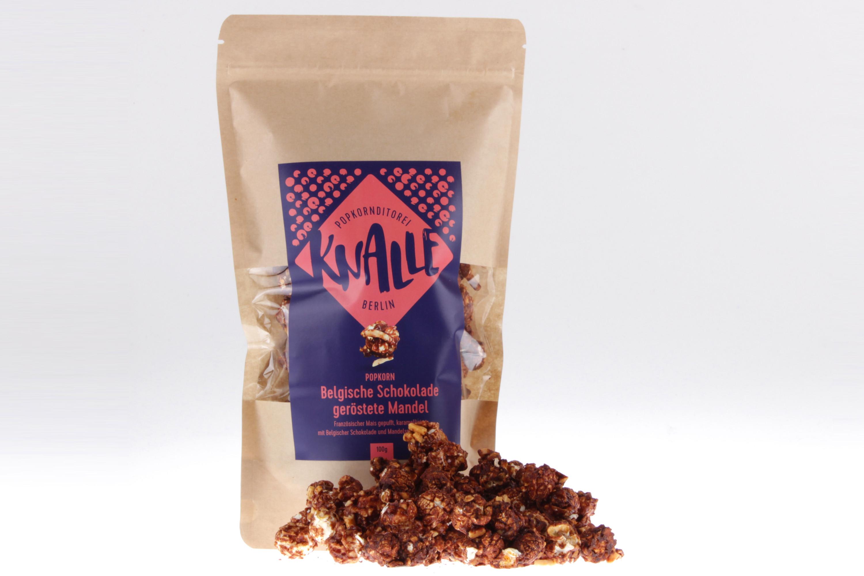 Schokolade geröstete Mandel Popcorn von feinjemacht