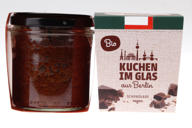 Schokoladenkuchen im Glas von feinjemacht