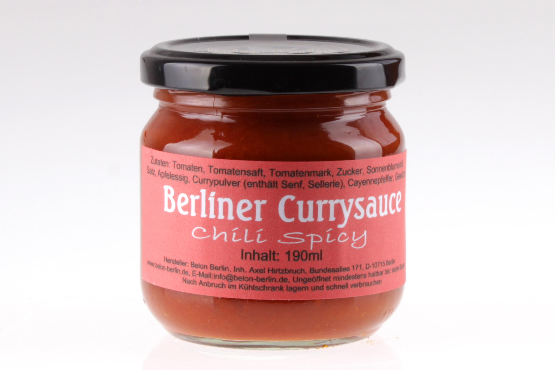 Berliner Currywurstsauce Spicy von feinjemacht