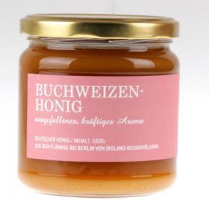 Buchweizen Bio Honig von feinjemacht