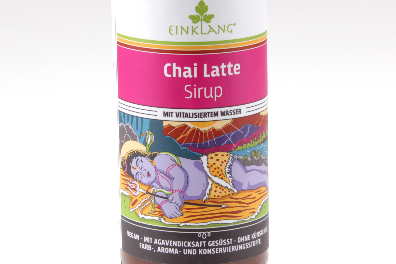 Chai Latte Sirup von feinjemacht