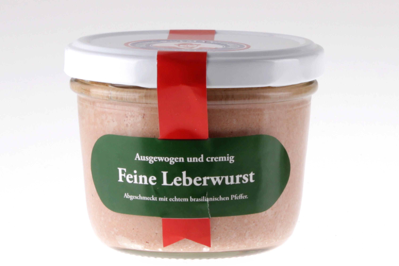 Feine Berliner Leberwurst im Glas von feinjemacht