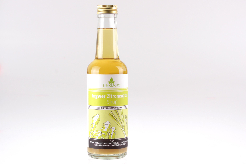 Ingwer Zitronengrass Sirup von feinjemacht
