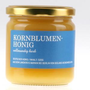 Kornblumen Bio Honig von feinjemacht