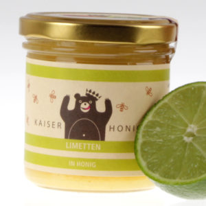 Limetten Honig aus Berlin von feinjemacht