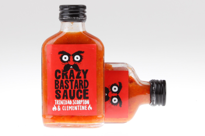 Scharfe Sauce Trinidad Scorpion Chili und Clementine von feinjemacht