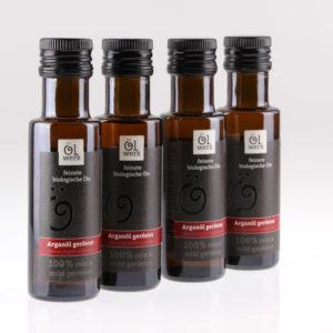 Arganöl geröstet Bio Speiseöl von feinjemacht