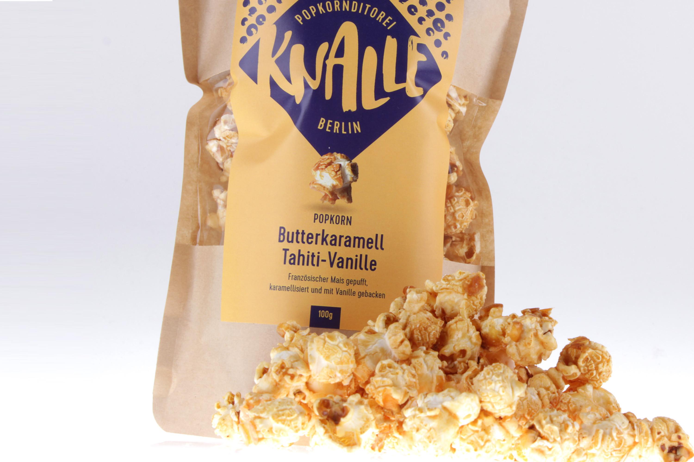 Butterkaramell und Tahiti-Vanille Popcorn von feinjemacht