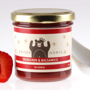 Erdbeere Balsamico Honig von feinjemacht