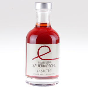 Bio Sauerkirsche fruchtessig von feinjemacht