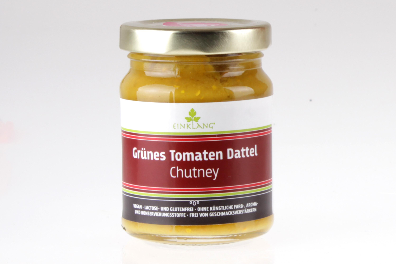 Grüne Tomaten Dattel Chutney von feinjemacht