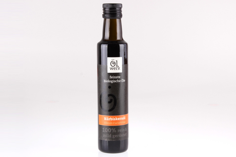Bio Kürbiskernöl Speiseöl von feinjemacht
