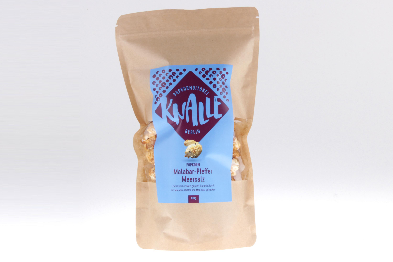 Malabar-Pfeffer Meersalz Popcorn von feinjemacht