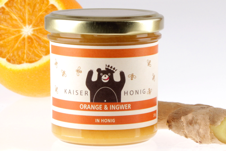 Orange Ingwer Honig von feinjemacht
