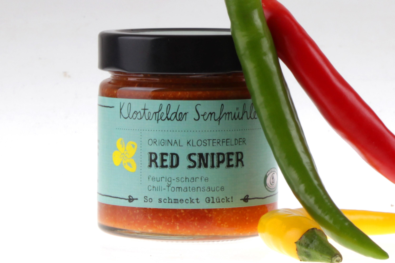 Red Sniper Senf von feinjemacht