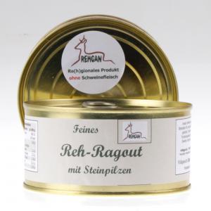 Reh-Ragout mit Steinpilzen von feinjemacht