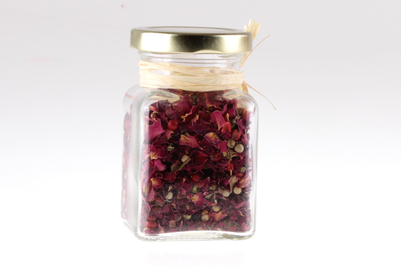 Rosenblütenpfeffer im Glas von feinjemacht
