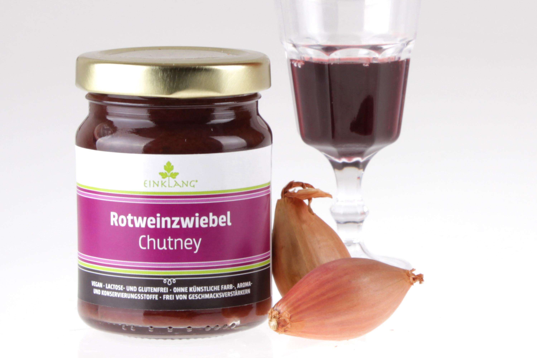 Rotweinzwiebel Chutney von feinjemacht