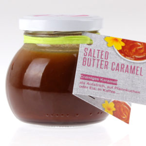 Salted Butter Caramel Dessert Creme von feinjemacht