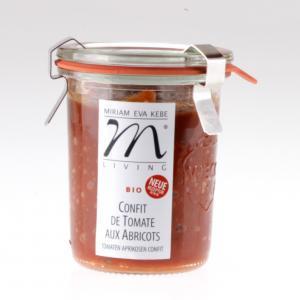 Tomatenaufstrich Confit de Tomate aux Abricot von feinjemacht