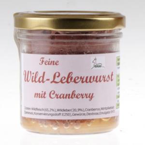 Wild-Leberwurst mit Cranberry von feinjemacht