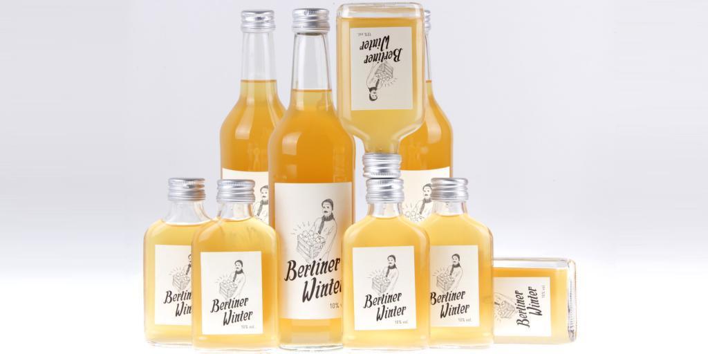 Berliner Winter Wodka und Apfelsaft von feinjemacht