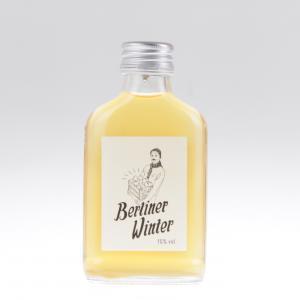 Berliner Winter kleine Flasche von feinjemacht