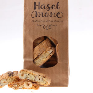 Haselmone Haselnuss Cantuccini Backmone von feinjemacht