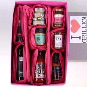 I Love Grillen Geschenkbox von feinjemacht