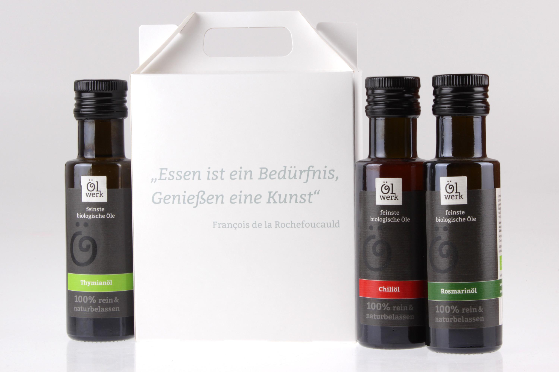 Kräuteröl Genussbox von feinjemacht