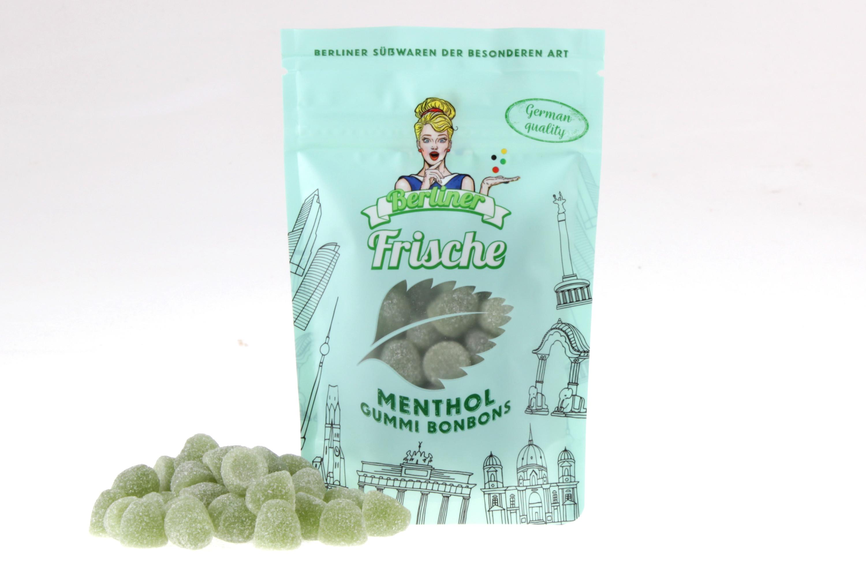 Menthol Gummi Bonbons Berliner Frische von feinjemacht