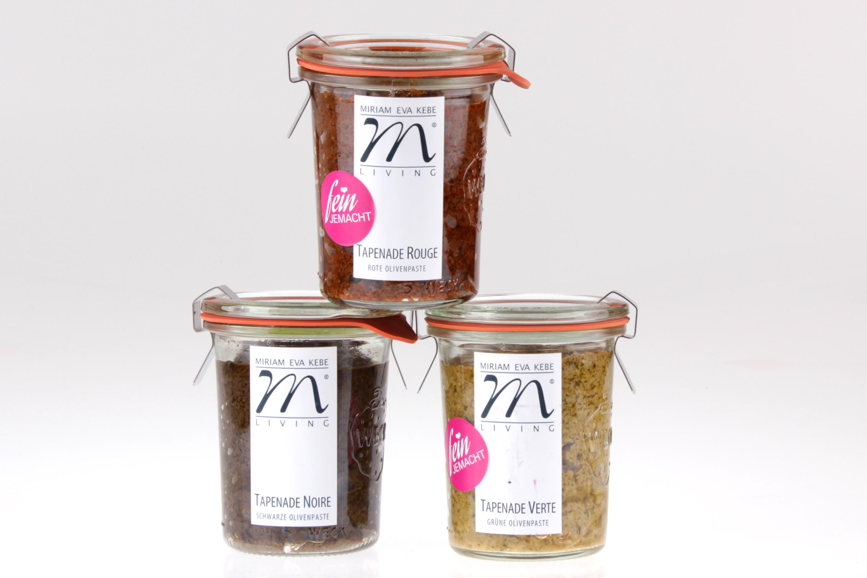 Oliven Tapenaden Set von feinjemacht
