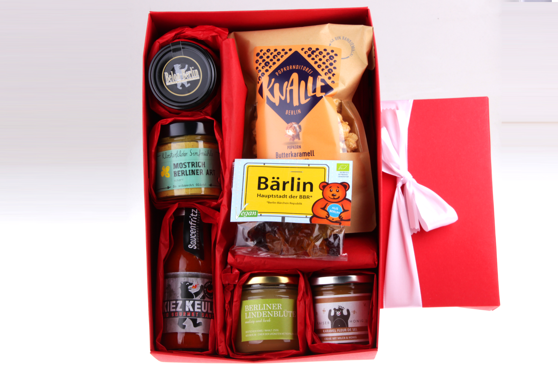 Weihnachts-Geschenkbox Berlin Hot and Sweet von feinjemacht