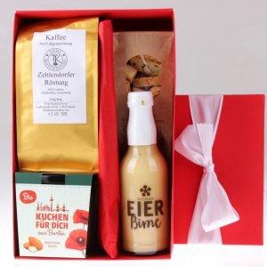 Weihnachts Geschenkbox Kaffeklatsch von feinjemacht