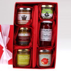 Weihnachts Geschenkbox suess und salzig von feinjemacht