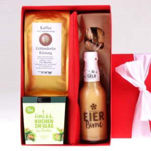 Weihnchts Geschenkbox Kaffeeklatsch von feinjemacht