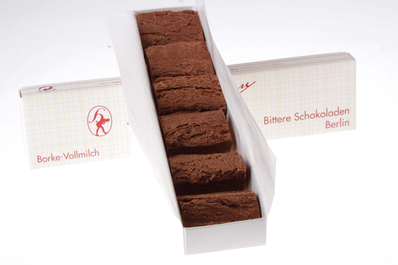Borke Vollmilch Schokolade Hamann von feinjemacht