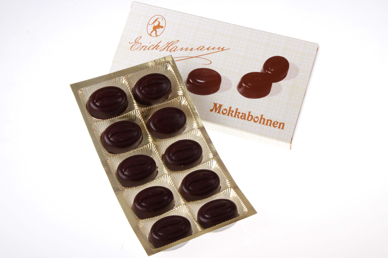 Gefüllte Mokkabohnen Schokolade Hamann von feinjemacht