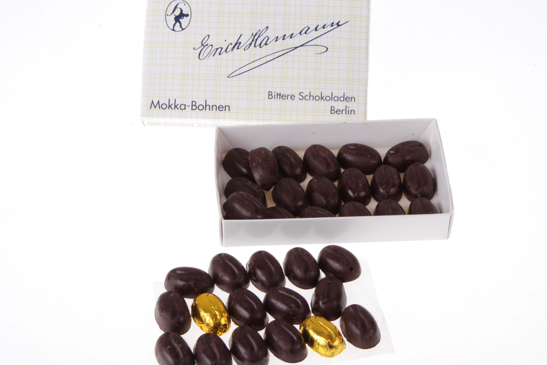 Massive Mokkabohnen Schokolade Hamann von feinjemacht