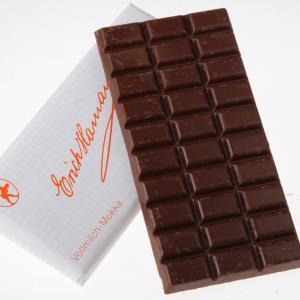Vollmilch Mokka Tafel Schokolade Hamann von feinjemacht