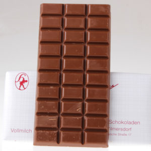 Vollmilch Tafel Schokolade Hamann von feinjemacht