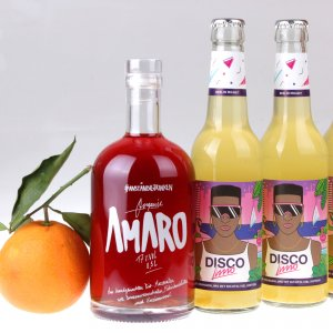 Amaro Disco Orange Partybox von feinjemacht