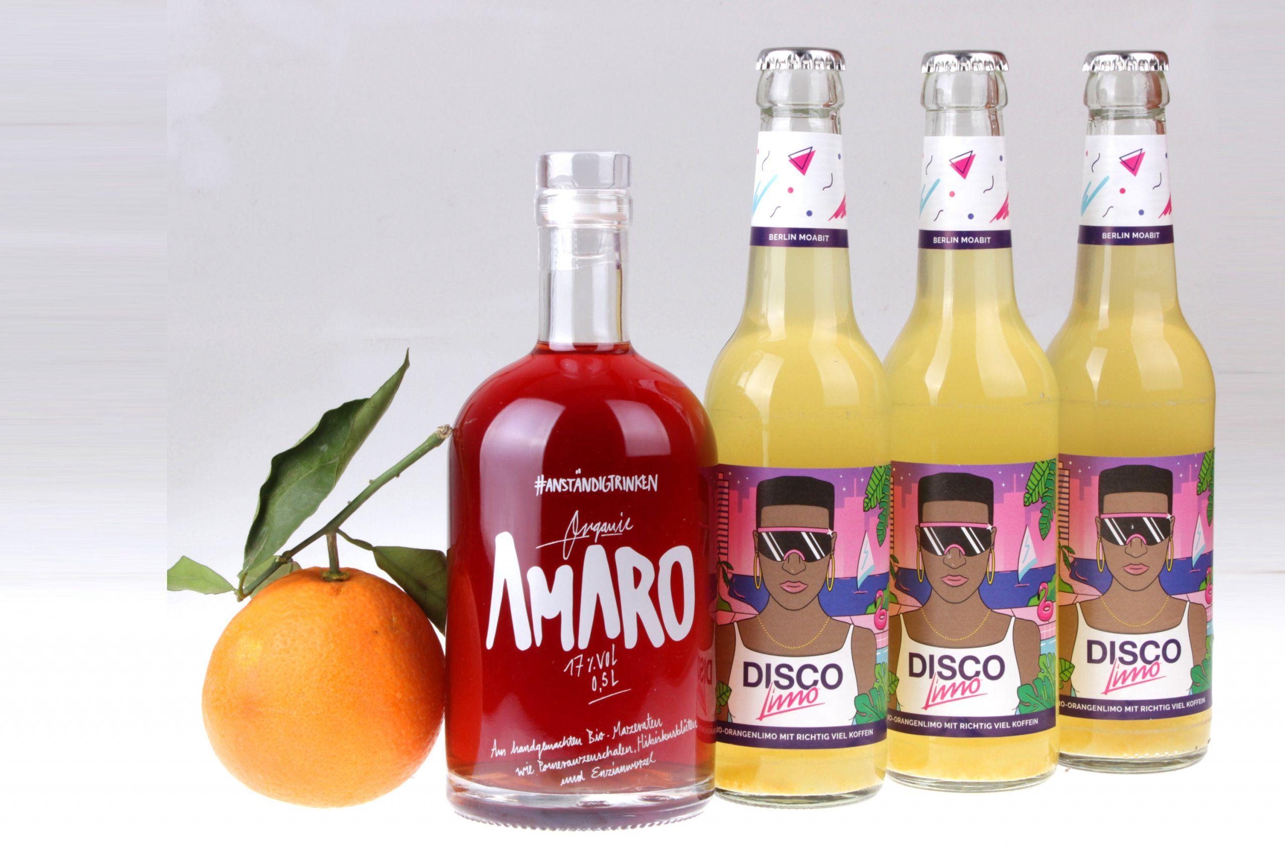 Amaro Disco Orange Partybox von feinjemacht
