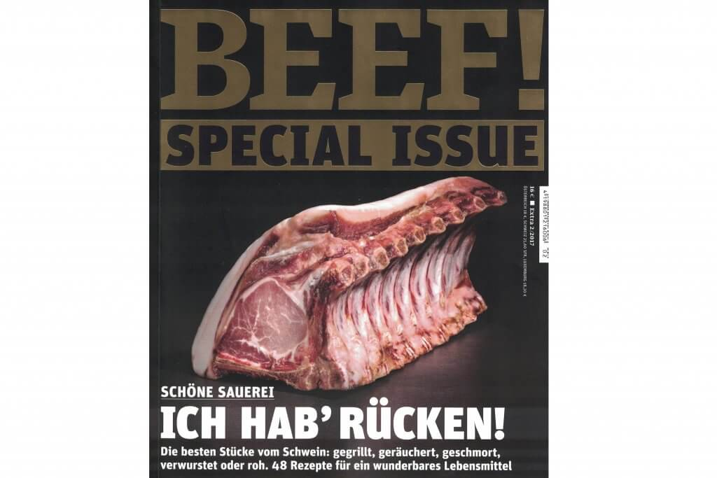 BEEF Presseartikel über feinjemacht