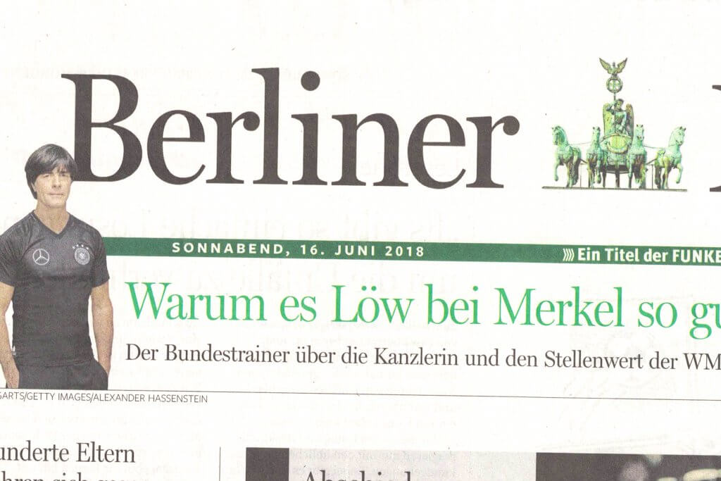 Pressebericht Berliner Morgenpost über feinjemacht